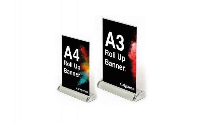 Desktop Roll Up Banner