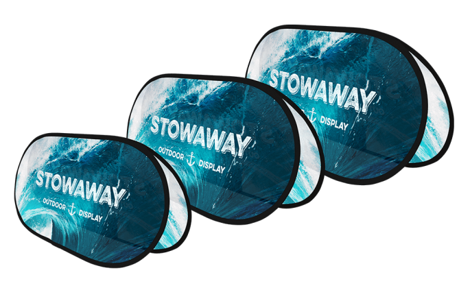 Stowaway Pop Up Display Stand